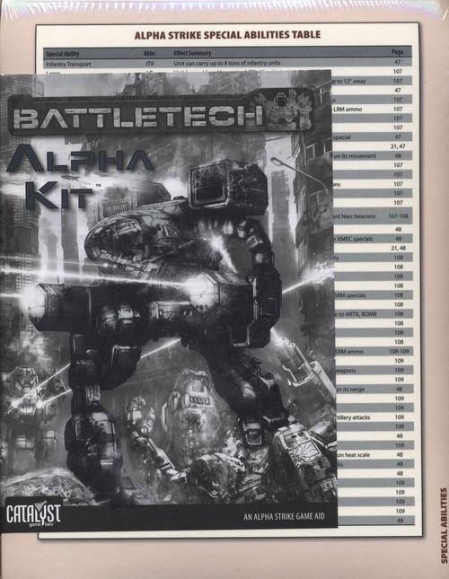 BattleTech Alpha Strike Kit Board Game Accessory Book