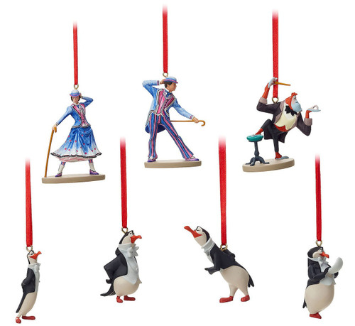Disney Mary Poppins Returns Ornament Set