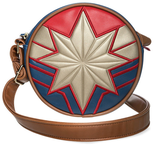 Disney Captain Marvel Circle Exclusive Crossbody Bag