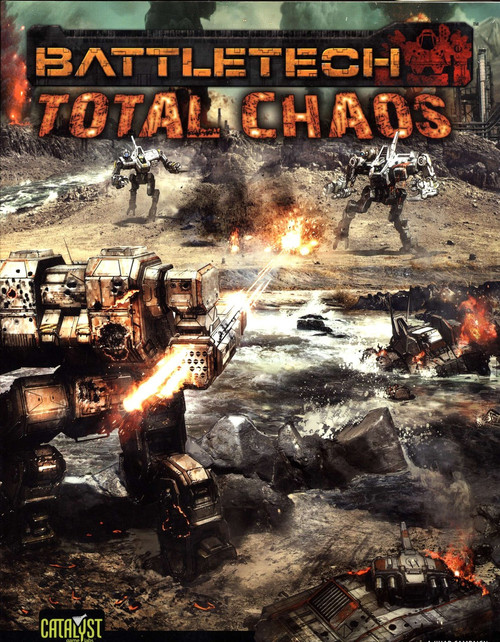 BattleTech Total Chaos Board Game Accessory Book