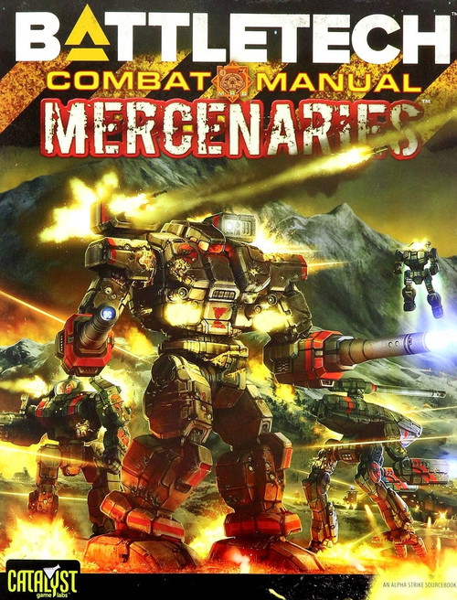 BattleTech Alpha Strike Combat Manual: Mercenaries Board Game Accessory Book