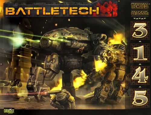 BattleTech Technical Readout: 3145 Board Game Accessory Book