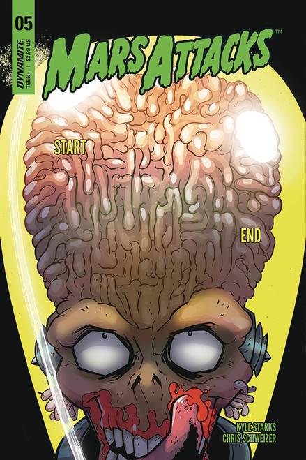 Dynamite Entertainment Mars Attacks #5 Comic Book