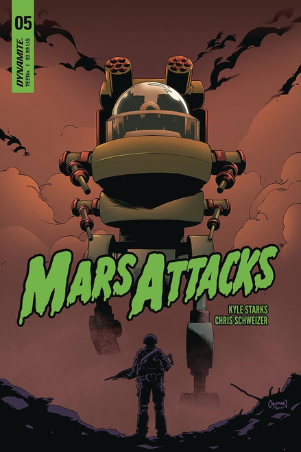 Dynamite Entertainment Mars Attacks #5 Comic Book [Cover B]