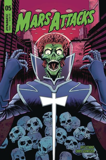 Dynamite Entertainment Mars Attacks #5 Comic Book [Cover C]