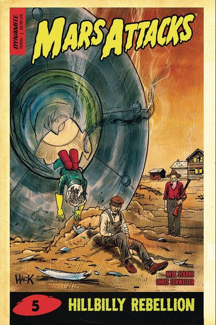 Dynamite Entertainment Mars Attacks #5 Comic Book [Cover D]