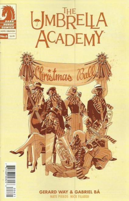 Dark Horse Umbrella Academy #6 Comic Book