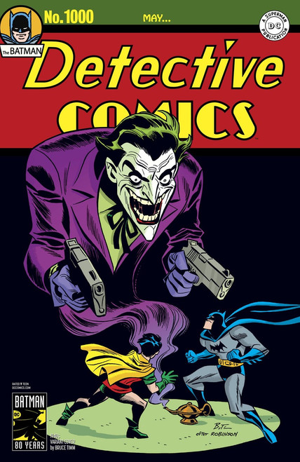 DC Detective Comics #1000 Comic Book [1940's Variant Cover]