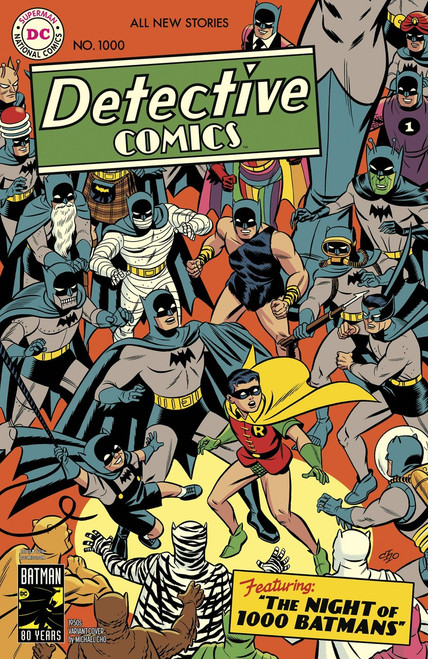 DC Detective Comics #1000 Comic Book [1950's Variant Cover]