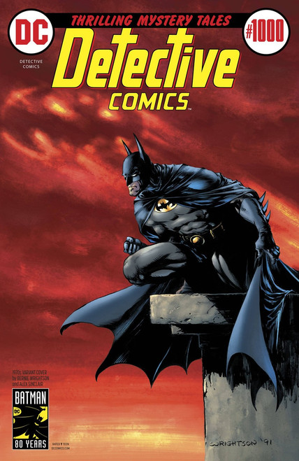 DC Detective Comics #1000 Comic Book [1970's Variant Cover]