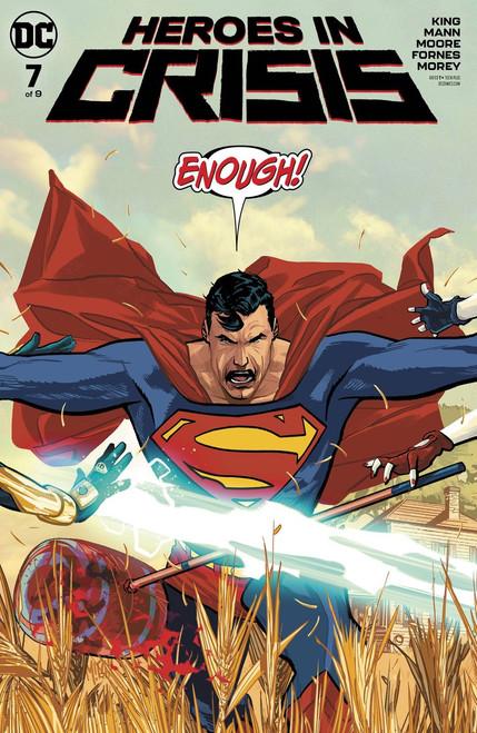 DC Heroes In Crisis #7 of 9 Comic Book