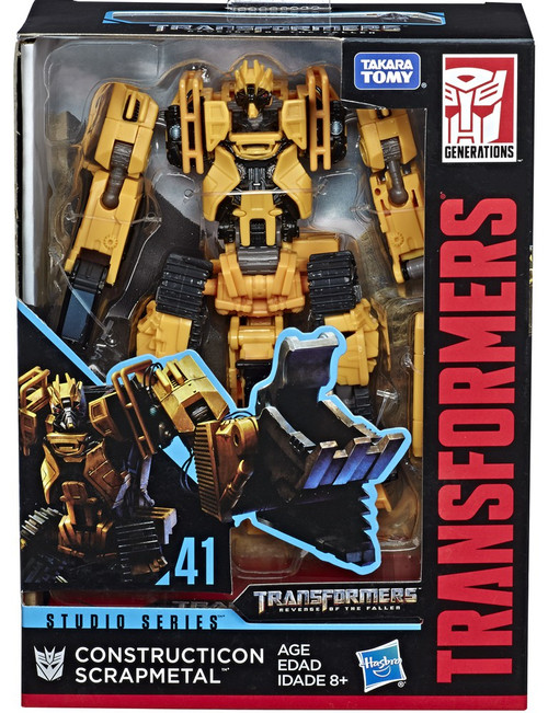 Transformers Generations Studio Series Scrapmetal Deluxe Action Figure #41