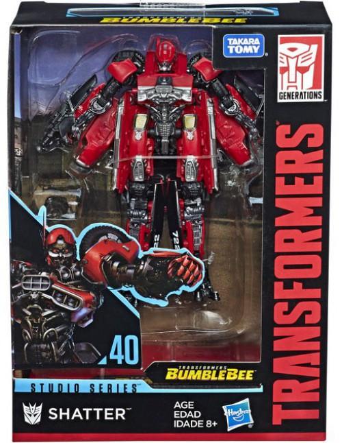 Transformers Generations Studio Series Shatter Deluxe Action Figure #40