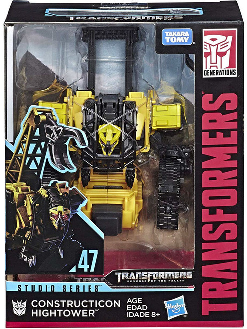 Transformers Generations Studio Series Construction Hightower Deluxe Action Figure #47 [Revenge of the Fallen]