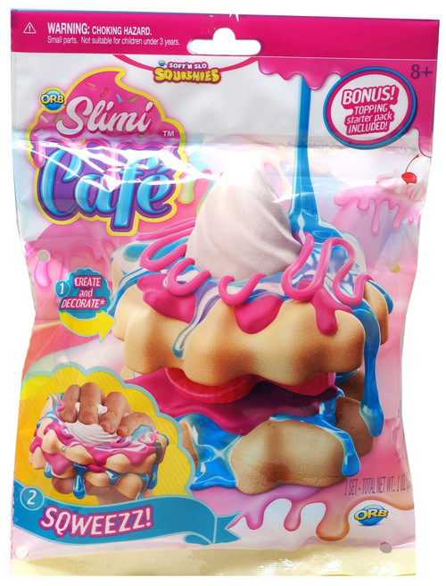 Soft'N Slow Squishies Slimi Cafe Waffle Stack Squeeze Toy