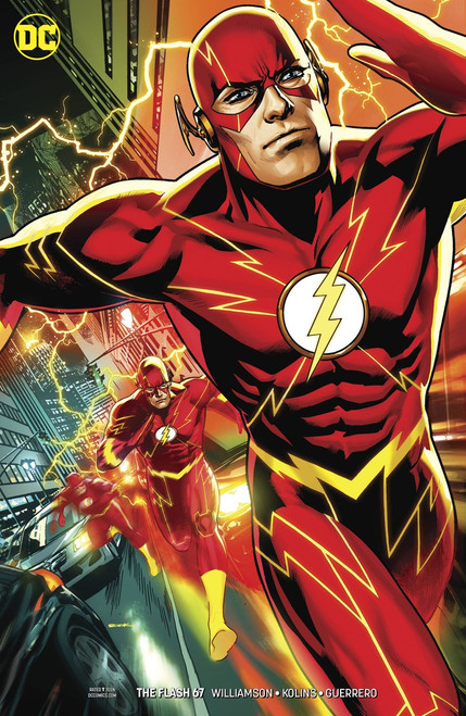 DC The Flash #67 Comic Book [Ryan Sook Variant Cover]