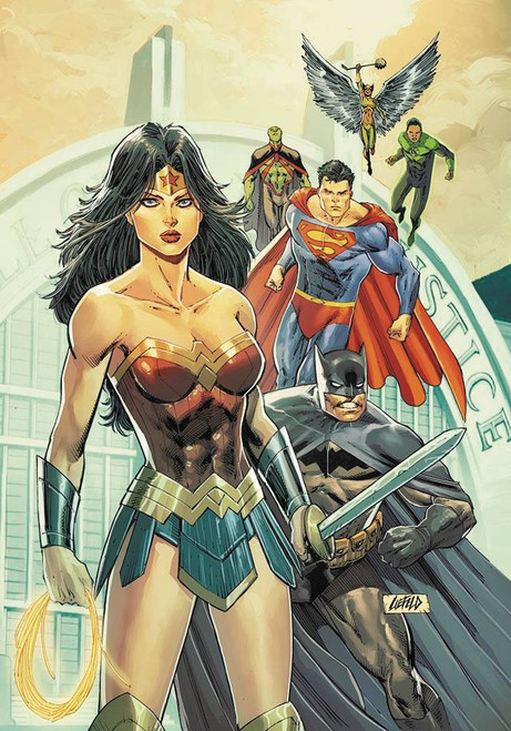 DC Justice League #19 Comic Book [Rob Liefeld Variant Cover]