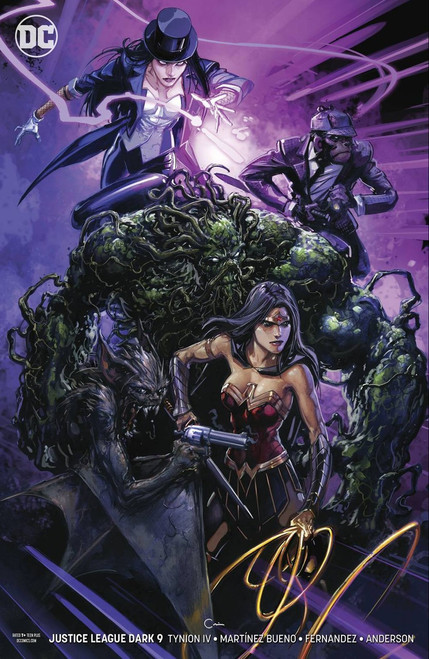 DC Justice League Dark #9 Comic Book [Kelly Jones Variant Cover]