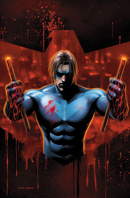DC Nightwing #58 Comic Book [Tyler Kirkham Variant Cover]