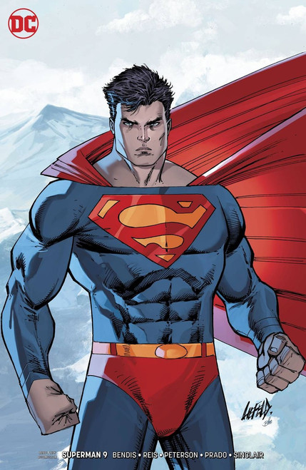 DC Superman #9 Comic Book [Rob Liefeld Variant Cover]