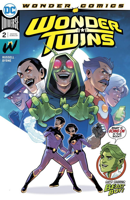 DC Wonder Twins #2 Comic Book