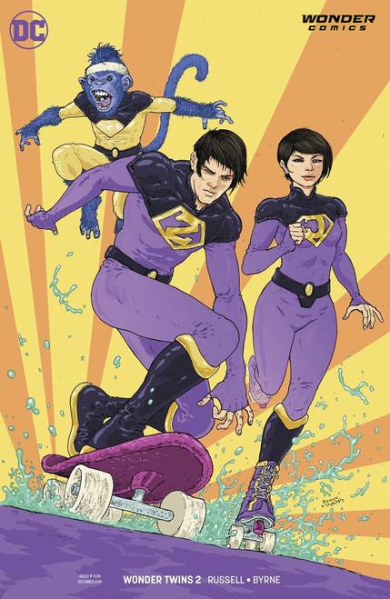 DC Wonder Twins #2 Comic Book [Villalobos Variant Cover]