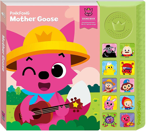 Pinkfong Mother Goose Sound Book [Version 1]