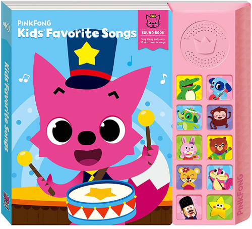 Pinkfong Kids' Favorite Songs Sound Book [Version 1]