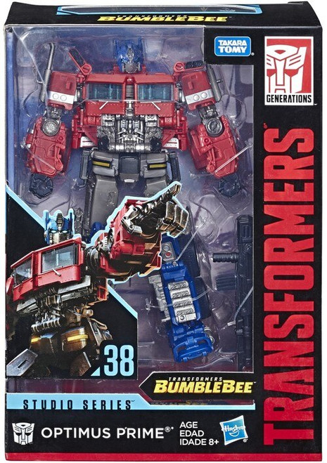 Transformers Generations Studio Series Optimus Prime Voyager Action Figure #38 [Version 3]