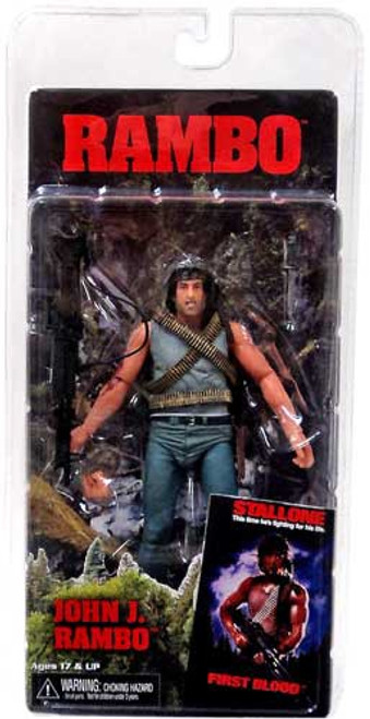 NECA First Blood Series 1 John J. Rambo Action Figure
