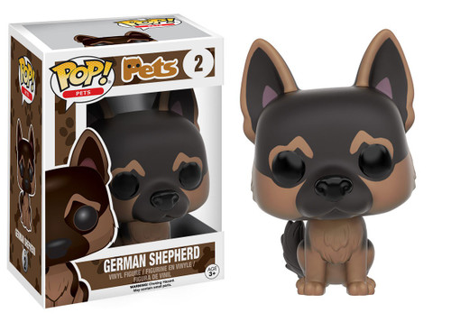 Funko POP! Pets German Shepherd Vinyl Figure #2 [Damaged Package]