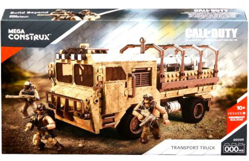 Call of Duty Heavy Tactical Cargo Truck Set