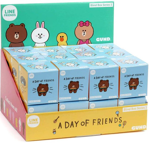 Series 1 Line Friends Plush Mystery Box [24 Packs]