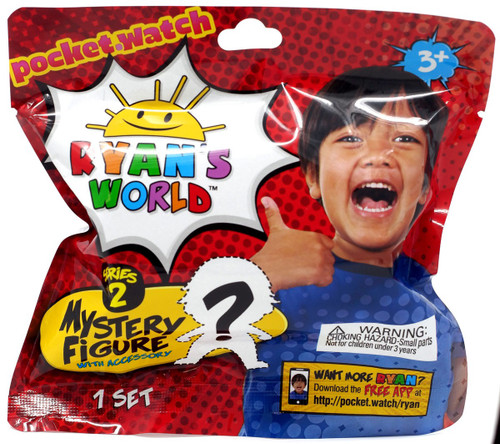 Ryan's World Mini Figure with Accessory Series 2 Mystery Pack