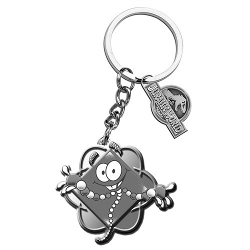 Jurassic World Mr. DNA Metal Keychain