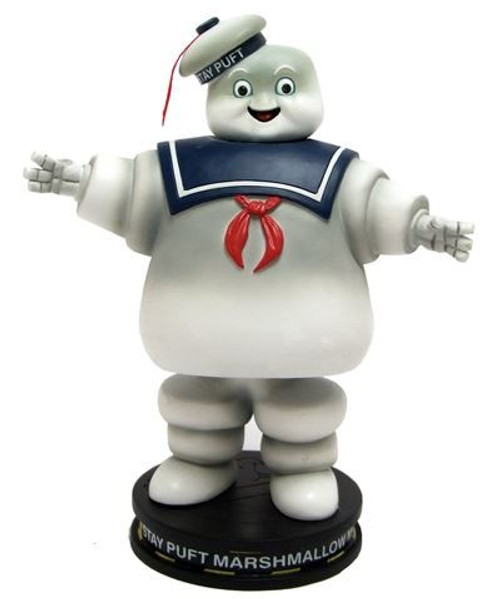 Ghostbusters Stay Puft Marshmallow Man 6.75-Inch Premium Motion Statue