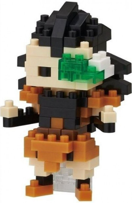 Nanoblock Dragon Ball Z Raditz Micro-Sized Building Block Set #005