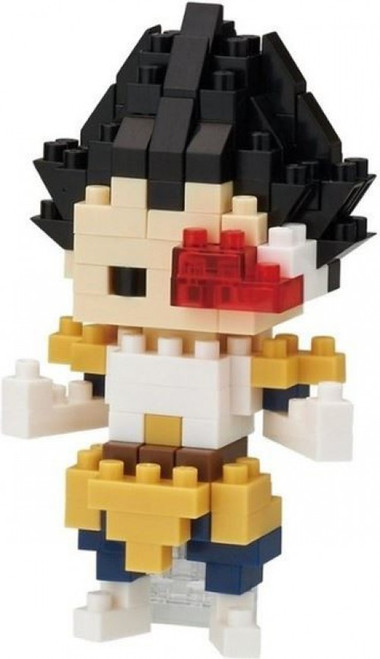 Nanoblock Dragon Ball Z Vegeta Micro-Sized Building Block Set #004