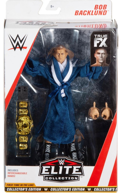 WWE Wrestling Elite Collection Series 63 Bob Backlund Action Figure [Collector's Edition]