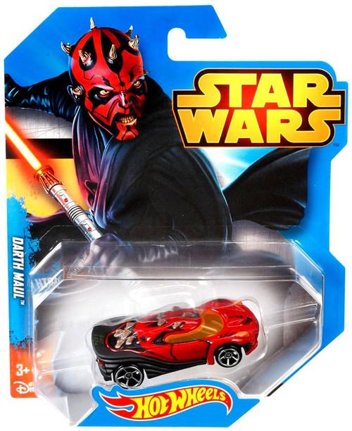 Hot Wheels Star Wars Darth Maul Die-Cast Car