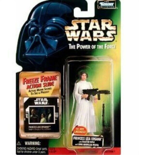 Star Wars A New Hope Power of the Force POTF2 Kenner Collection Princess Leia Organa Action Figure