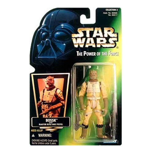 Star Wars The Empire Strikes Back Power of the Force POTF2 Collection 2 Bossk Action Figure [Hologram Card]