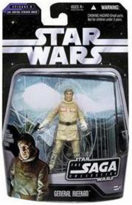 Star Wars The Empire Strikes Back 2006 Saga Collection General Rieekan Action Figure #12