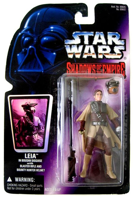 Star Wars Expanded Universe Power of the Force POTF2 Shadows of the Empire Leia in Boushh Disguise Action Figure