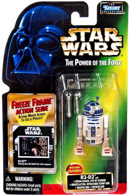 Star Wars Return of the Jedi Power of the Force POTF2 Kenner Collection R2-D2 Action Figure [Spring Loaded Pop-Up Scanner]