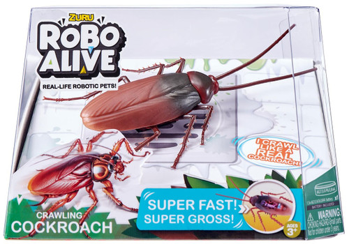 Robo Alive Crawling Cockroach Robotic Pet Figure