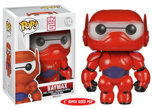 Funko Big Hero 6 POP! Disney Baymax 6-Inch Vinyl Figure #112 [Super-Sized, Damaged Package]