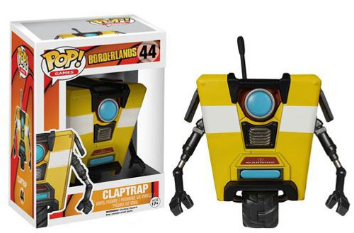 Funko Borderlands POP! Games Claptrap Vinyl Figure #44 [Damaged Package]