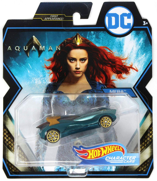 Hot Wheels DC Aquaman Character Cars Mera Die-Cast Car