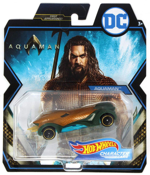 Hot Wheels DC Aquaman Character Cars Aquaman Die-Cast Car